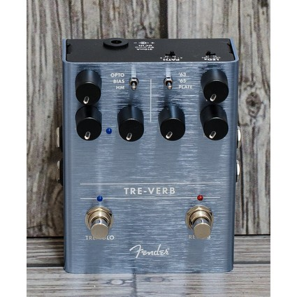 Fender Tre-Verb Digital Reverb-Tremolo Pedal (299947)