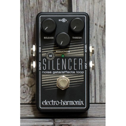 Electro Harmonix Silencer Effects Loop/ Noise Gate Pedal (300742)