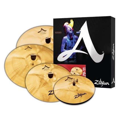 Zildjian A Custom Pack (14 Hh  16c 20mr  + Bonus 18c) (302999)