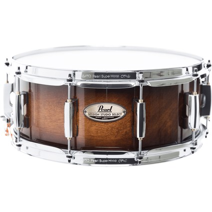 Pearl Session Studio Select Snare Drum 14x6.5 - Gloss Barnwood Brown (303361)