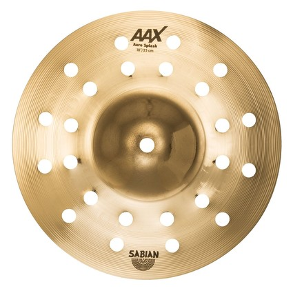 "SABIAN AAX 10"" Aero Splash - Brilliant (303460)"