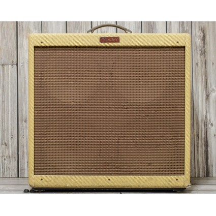 Pre Owned Fender Blues Deville 4x10 Tweed Inc Cover (304030)