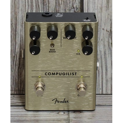 Fender Compugilist Pedal - Compressor Distortion (307543)