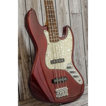 Pre Owned AXL Bass Guitar Red (308823)