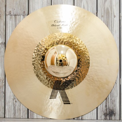"Zildjian K Custom Hybrid Ride Cymbal - 21"" - Display Stock (309868)"