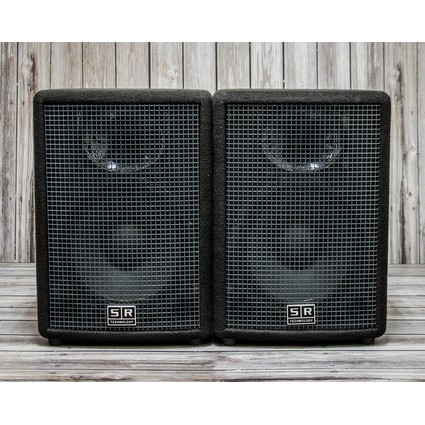 Pre Owned SR Technologies Live 350 1x12 Passive Speakers (Pair) (310277)