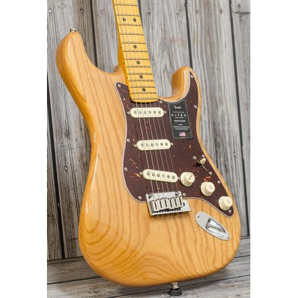 Fender American Ultra Stratocaster Maple Aged Natural (311465)