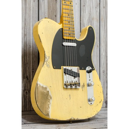 Fender Custom Shop 1952 Telecaster - Heavy Relic,  Aged Nocaster Blonde (311571)