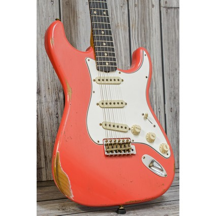 Fender Custom Shop Limited Roasted Tomatillo Stratocaster -Tahitian Coral Aged, Relic RW (311618)