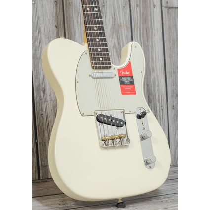 Fender American Professional Telecaster Olympic White  Rosewood (315449)
