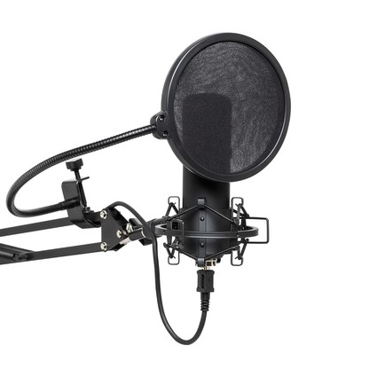 Stagg SMU45 Set Inc Pop Filter Stand Shock Mount Cable (317498)