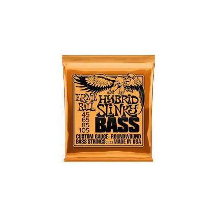 Ernie Ball 45-105 Hybrid Slinky Bass Guitar Strings (32223)