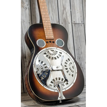 Pre Owned 1981 Dobra D60S Square Neck Resonator Inc. Case (323048)