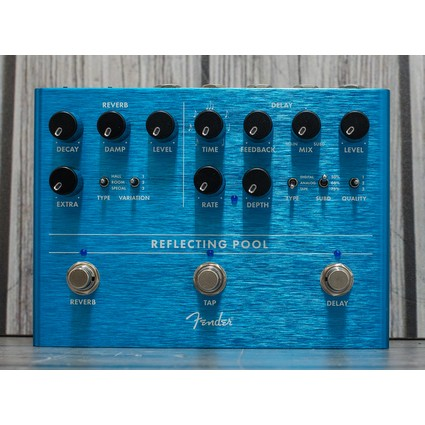 Pre Owned Fender Reflecting Pool Inc Box (323352)