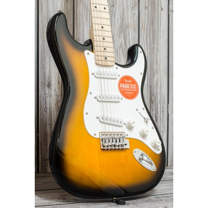 Squier Affinity Stratocaster Electric Guitar - 2 Tone Sunburst, Maple (41454)
