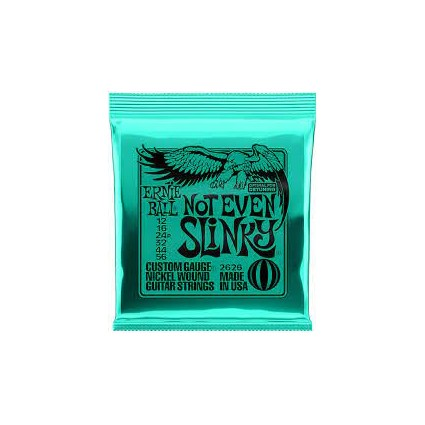 Ernie Ball 12-56 Not Even Slinky Electric Guitar Strings (42604)