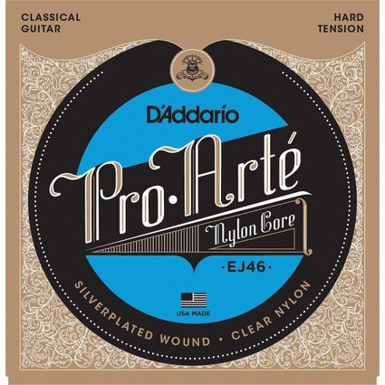 D'addario Pro Arte EJ46 Hard Tension Nylon Strings (46824)