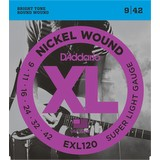 D'Addario EXL120 Electric Guitar Strings - 09-42 (50142)