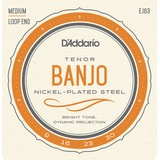 D'addario EJ63 4-String Tenor Banjo Strings (50210)