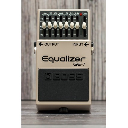 Boss GE-7 7-Band EQ Effects Pedal (54645)