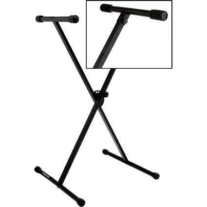 On Stage Keyboard Stand - Single Braced (55383)