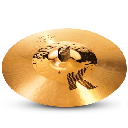 "Zildjian K Custom Hybrid Crash Cymbal - 16"" Display Stock (87551)"