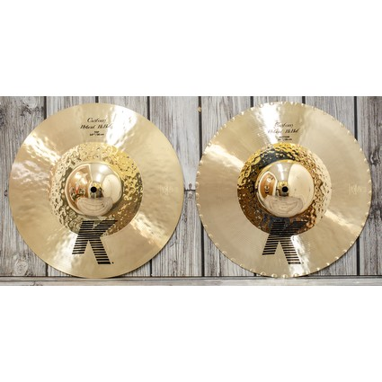 Zildjian K Custom Hybrid Hi-Hat Cymbals - 14¼ Display Stock (87582)