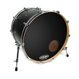 "Evans 22"" EQ3 Resonant Black Drum Head (90322)"