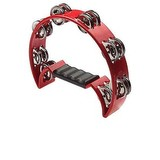 Stagg Cutaway Tambourine 16 Jing, Red (91183)