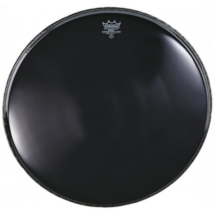 "Remo Powerstroke 3 Ebony 22"" Bass Drum Head (91848)"