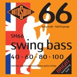 Rotosound 40-100 Swing Bass Strings Long Scale Hybrid Gauge (91930)