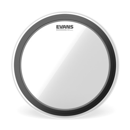 "Evans 22"" EMAD Clear Bass Drum Head (95723)"