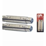 Stagg AC-XFXFH XLR Female Adaptor (Pair) (97758)