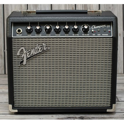 fender champion 20 guitar combo amps electric amps. Black Bedroom Furniture Sets. Home Design Ideas