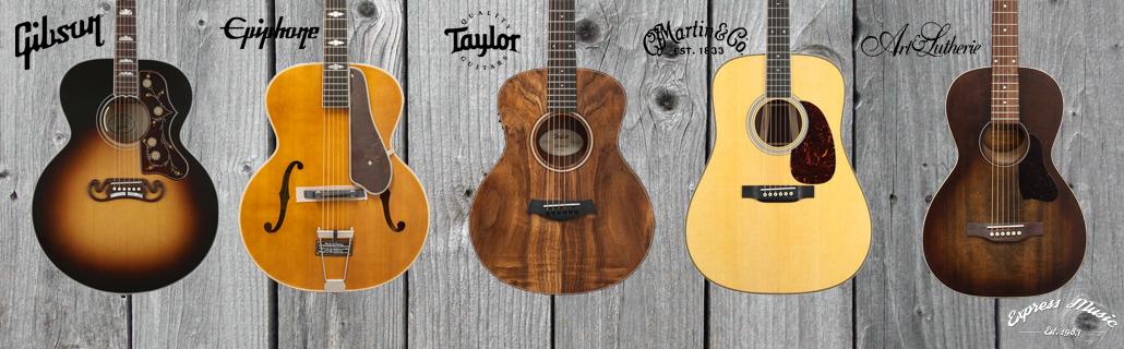 Acoustic Guitars