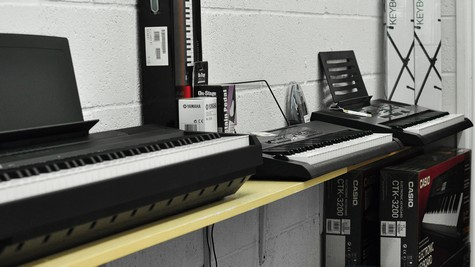 Shirley Keyboard Room